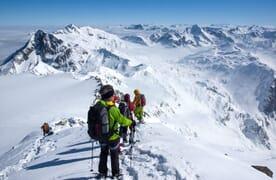 NEU: Schneeschuhtour Gipfel über der Greina