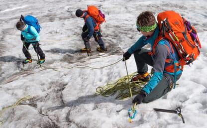 Grundkurs Bergsteigen Schnee & Eis Turtmann