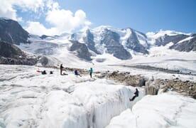 Grundkurs Bergsteigen mit Hotelkomfort im Engadin