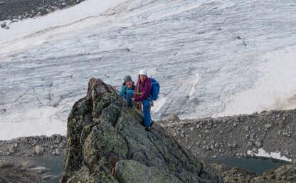 Aufbaukurs Bergsteigen Fels & Eis Orny