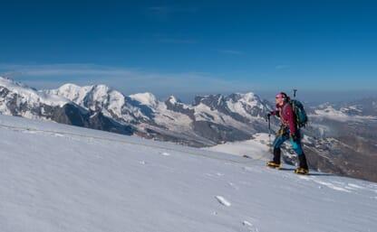 Hochtour Allalinhorn 4027m, Strahlhorn 4190m