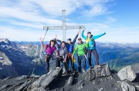 Hochtour Gipfel über der Greina