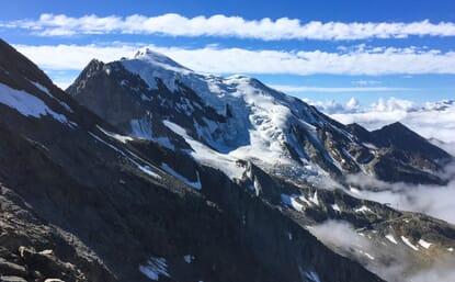 Hochtour Weissmies 4017m, Lagginhorn 4010m