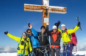 Hochtour 4x 4000 zwischen Saas Fee und Zermatt