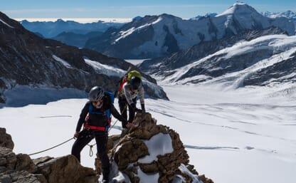 Hochtour Mönch, Jungfrau, Finsteraarhorn