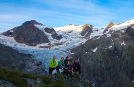 Gletschertrekking Trift- und Rhonegletscher