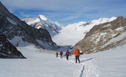 Gletschertrekking Grimselpass-Lötschental