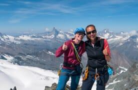Gletschertrekking Mischabel mit Allalinhorn 4027m