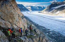 NEU: Gletschertrekking vom Jungfraujoch zur Alpe Devero