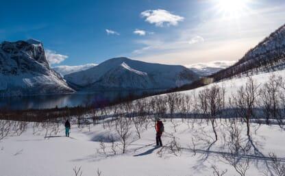 Skitourenreise Insel Kvaloya, Norwegen