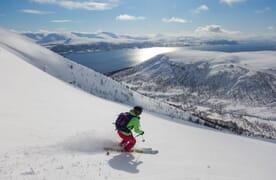 SKI & SAIL in der Fjord- und Inselwelt der bekannten Lyngen Alps