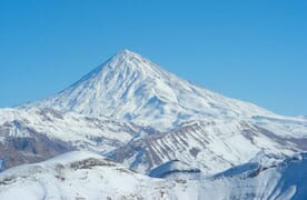 Skitourenreise Damavand, Iran