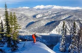 Skitourenreise nach Südsibirien, Russland