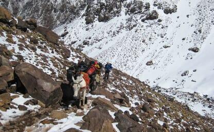 Skitourenreise zu den 4000ern von Marokko