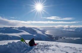 NEU: Skitouren-Kreuzfahrt Lyngen Alps, Norwegen