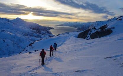 Schneeschuhtourenreise zu den wilden Lofoten