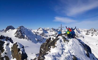 Grundkurs Skihochtouren Silvretta 4+1
