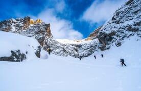 Skitour Sulzfluh bei St. Antönien