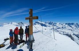 Skitour Sulzfluh bei St. Antönien 4+1