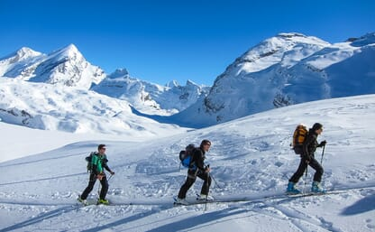 Skitour Gitzifurggu - Wildstrubel 3243m