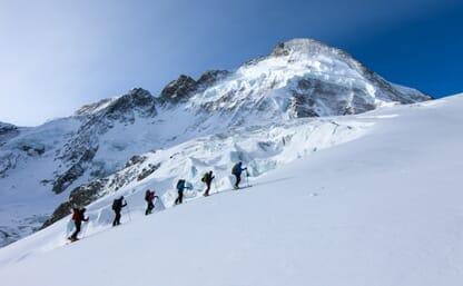 Skitour Breithorn 4164m - Tête Blanche 3707m