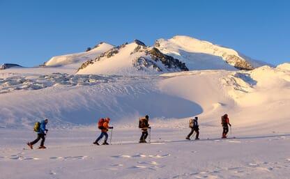 Skitour Allalinhorn 4027m - Strahlhorn 4190m