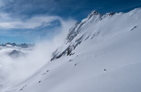 Freeride-Weekend am Gemsstock, Andermatt