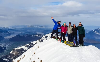Skitour Brisen 2403m