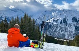 Skitouren Sonnenhorn-Wissmilen