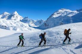 Skitour Gitzifurggu - Wildstrubel 3243m 4+1