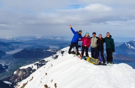 Skitour Brisen 2403m 4+1
