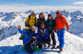 Skitouren um Sedrun