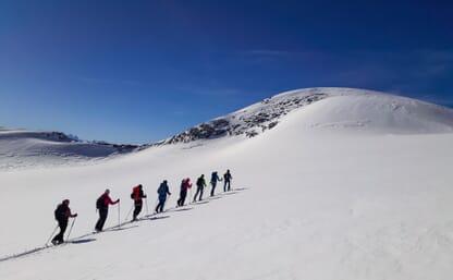 NEU: Skitouren rund um die Lämmerenhütte