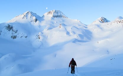 Skitouren rund um die Rotondohütte (Ski/Board)