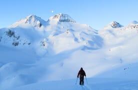 Skitouren rund um die Rotondohütte (Ski/Board) 4+1