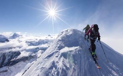 Skitour Walliser Haute Route