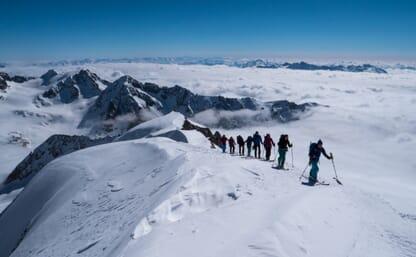 Skitour Berner Haute Route