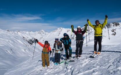 Skitour Haute Route Graubünden