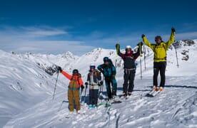 Skitour Haute Route Graubünden 4+1