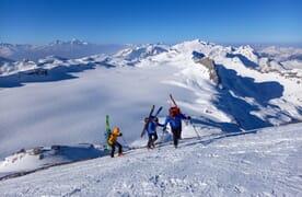 Skitour die Wilden W's