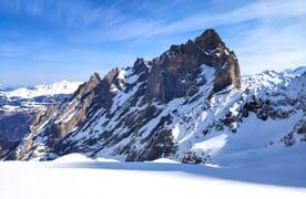Skitouren versteckte Gaulihütte