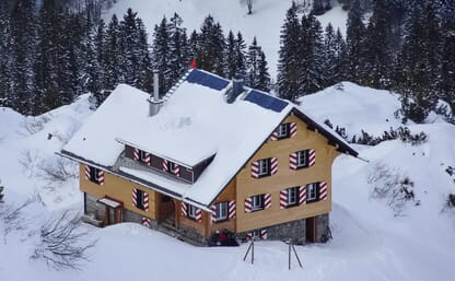 Schneeschuhtour Lidernen