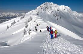Schneeschuhtouren um die Obergestelenhütte