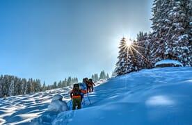 NEU: Schneeschuhtour Piz da Vrin 2563m