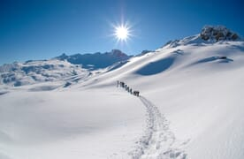 Schneeschuhtour Wissmilen 2483m Spezial