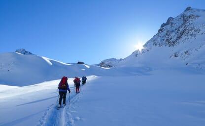 Schneeschuhtour Naturpark Ela