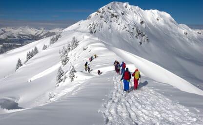 Schneeschuhtouren um die Obergestelenhütte 4+1