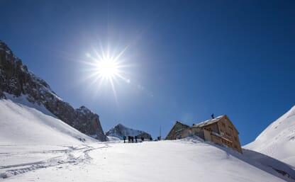 Schneeschuhtour Wildhorn 3246m 4+1