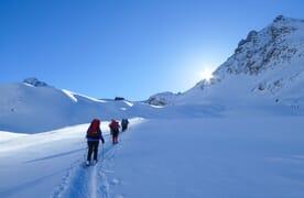 Schneeschuhtour Naturpark Ela 4+1