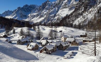 Schneeschuhtouren Alpe Devero